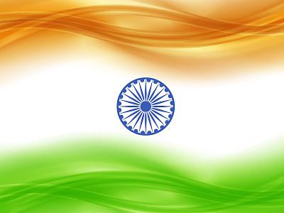 Tiranga (India Flag) Wallpaper - Art Work wallpaper design independence day indian india flag india illustration