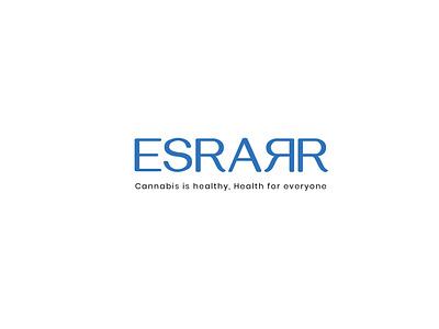 Esrarr - Cannabis Company Branding minimal logo minimalistic logo typography logo illustration branding minimal branding logo design minimal brand icon design