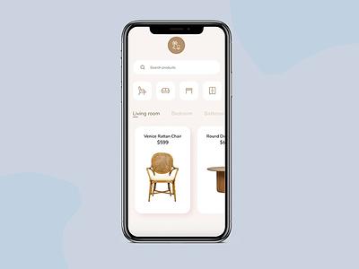E-commerce App Prototype ui adobexd concept microanimation prototype clean design minimalistic design mobile app