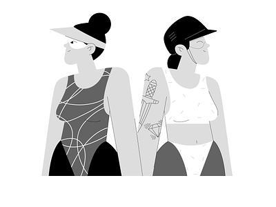 Girls Power 🔥 flat motion graphics woman branding graphic design vector explainer graphic sport girl animation design character illustration