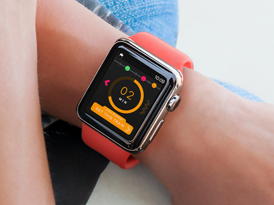 London Underground Watch App transport apple watch ui