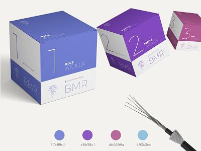Atolla BMR Box Design logo branding package design design