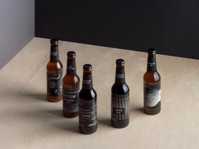 Bell's Brewery on Behance grey white label bottle beer black gradient vector design graphic moravszki katamoravszki