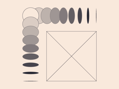 amorphous '2 no yes graphic design line flat gradient geometic fun love moravszki katamoravszki black design illustration vector graphic