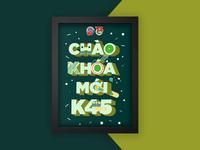 Chao Khoa Moi K45 Poster Illustration