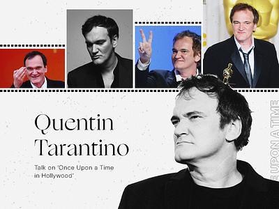 Quentin Tarantino Constructivism Art typography layout design layout graphic design illustration