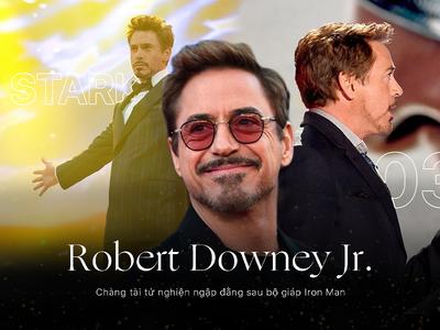 Magazine Artwork w/ Robert Downey Jr.