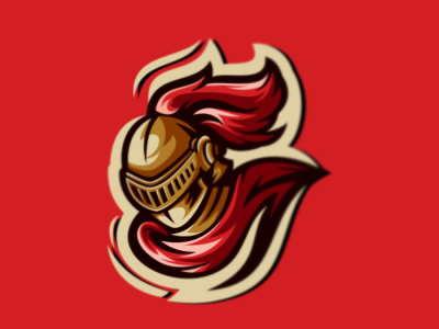 KNIGHT bold illustration gaming emblem vector brand forsale sport logo knight logo knight