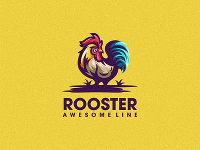 Rooster 2 design vector forsale sport logo