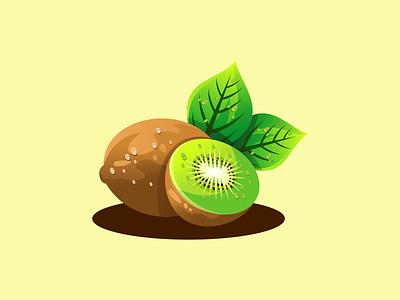 kiwi illustration emblem design vector brand forsale sport 3d branding logo motion graphics graphic design animation ui kiwi