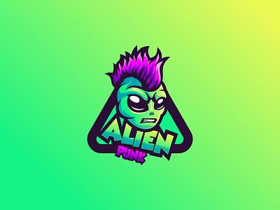 alien emblem illustration ui design vector brand forsale sport branding logo motion graphics graphic design 3d animation alien
