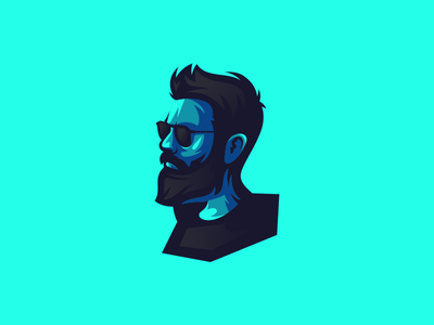 man illustration emblem design vector brand forsale sport ui 3d animation branding logo motion graphics graphic design man