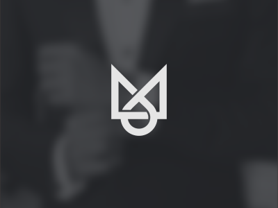 M+O brand forsale icon logo lettering mo