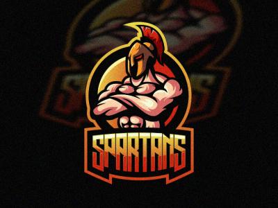 Spartans 1 sale branding bold illustration gamer cool vector game design gaming emblem brand forsale sport logo