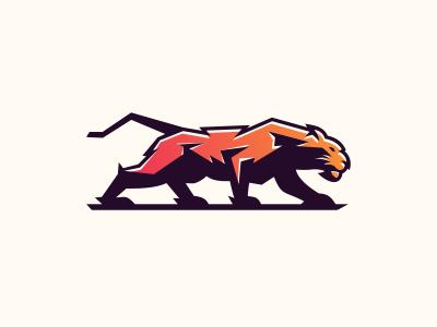 Tiger illustration cool game sale bold animal gamer design gaming vector emblem icon brand forsale sport logo