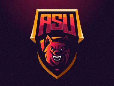 Wolf fox bold animal branding gamer illustration cool game design gaming emblem vector brand forsale sport logo