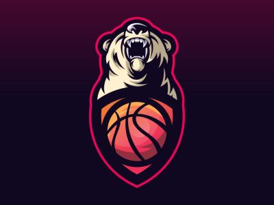 Bear web branding sale cool animal bold gamer illustration game design gaming emblem vector icon brand forsale sport logo