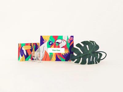 Ton Sur Ton Packaging branding illustration packaging