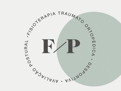 Felipe Paiva - Physiotherapist branding visual identity logo design