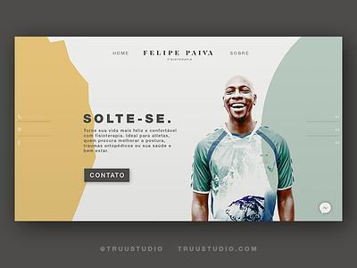 Felipe Paiva Webdesign branding web webdesign ux ui