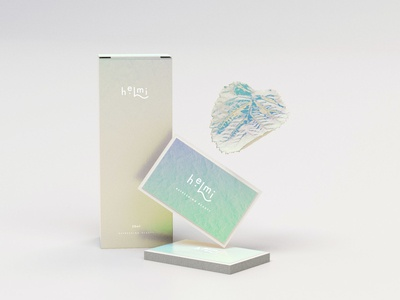 Helmi Visual Identity packaging design cosmetics logo design logo brand design visual identity brand identity brand strategy branding