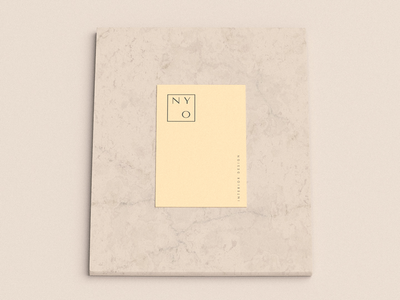 NY Ovi minimal simplicity corporate branding visual identity brand design minimalism interior design business card