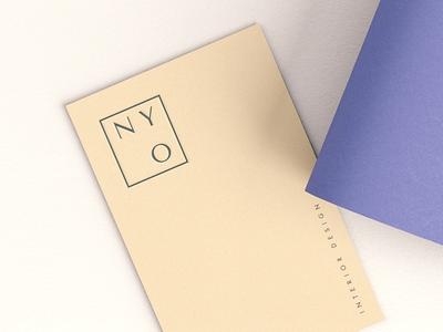 NY Ovi interior designer corporate identity visual identity brand design branding business card
