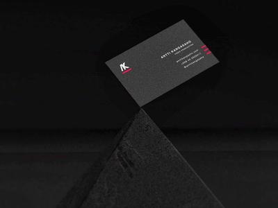 Antti Kangasaho Identity visual identity design logo identity branding