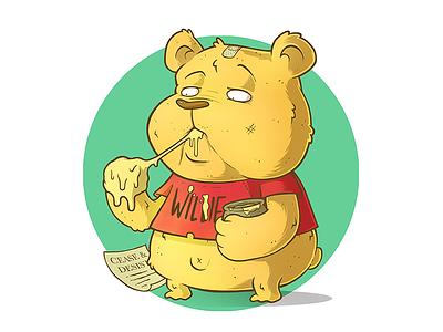 Plagiarism wacom toon photoshop bear character design character illustration cartoon