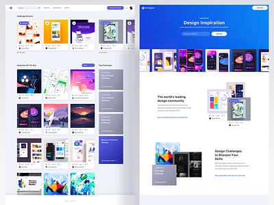 Innnspire - Web App webdesigner design userinterfaces web uiux ux userinterfacedesign ui webdesign