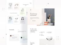 Gestalt Group - International - Website Design & Illustrations uiux landingpagedesign illustration illustrations landingpage webdesigner userinterfacedesign design webdesign ui