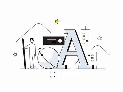 StarStudio Website Animation 🌟 illustraion illustrator animations animated animation 2d animation lottie vector branding illustration ui