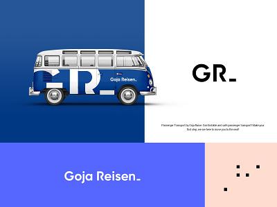 Goja Reisen Branding branding design logo design branding brand identity brand design logo design concept logo designs logo design logotype logodesign logos branding logo