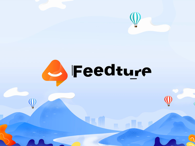 Feedture Logo Animation typography icon ui design logo design logos logodesign animations animation vector illustration branding logo