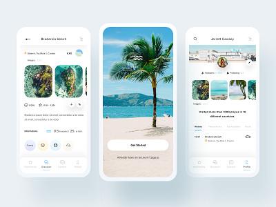 WeSwim - Summer Mobile mobileappdesign mobileapp mobileuiux mobiledesigner mobile web ux uiux userinterfacedesign design webdesign ui