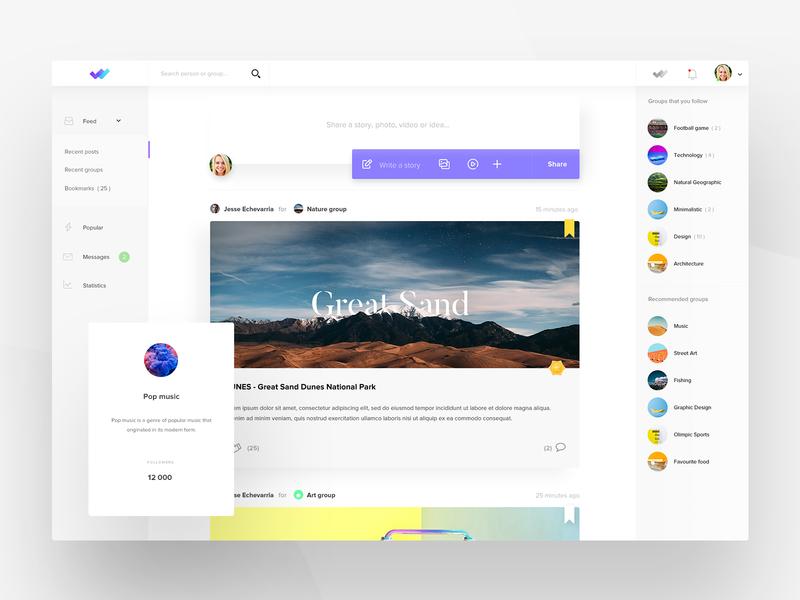 Social App webapplication social media social application social app webdesigner design web ux uiux userinterfacedesign userinterfaces webdesign ui