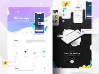 Behance Cantico IOS App