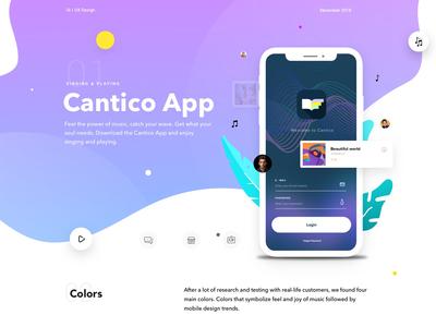 Behance Cantico IOS App