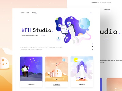 WFH Studio - Web Design & Illustrations
