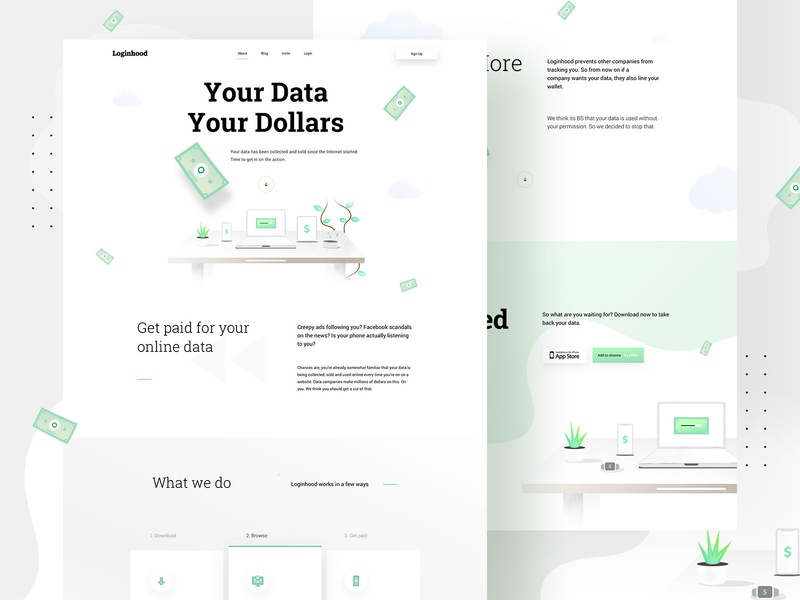 LH - Landing page - UI / UX Design typography illustrations landingpagedesign webdesigner web uiux graphicdesign ux landingpage userinterfaces illustration userinterfacedesign design webdesign ui