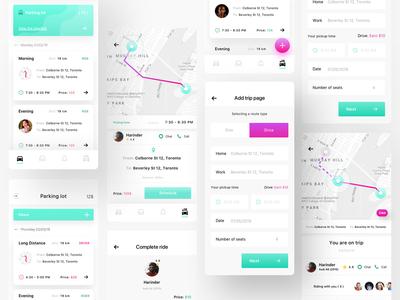 Merge Carpool App - IOS