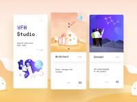 WFH Studio - Web Design & Illustrations - Mobile