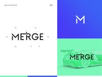Typography logo - Merge IOS App