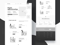 High fidelity wireframes + Sketches - GenM