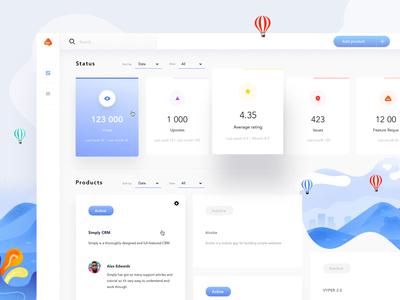 Feedture Web App - UI /UX Design & Dashboard