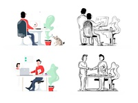 GenM Illustrations + Sketches