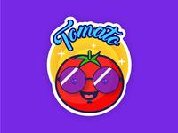 Sticker Mule - Tomato