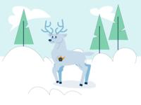 An authoritative deer