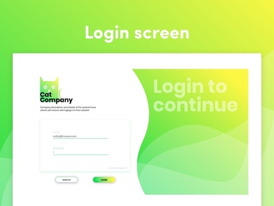 Login screen variation login page uxdesigner uxdesign uidesigner uidesign design ui sketch freebie login