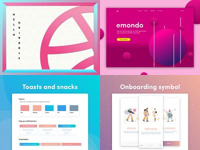 2018 roundup uikit app design freebie ux  ui ux designer ux design uidesigner uidesign ui top4shots 2018